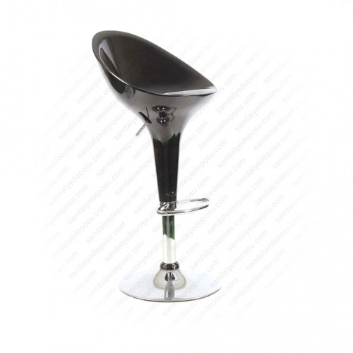 Astra sırtlı bar taburesi siyah (sınırlı stok)