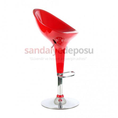 Astra Bar Sandalyesi Kırmızı Sınırlı adet