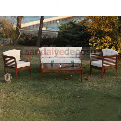 Garden dış ve iç mekan oturma grubu Kapitone