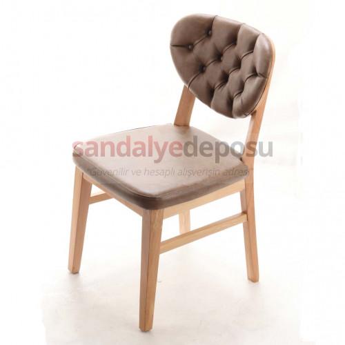 Zeybek Ahşap Sandalye