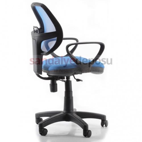 Fox Fileli Bilgisayar Ve Çalışma Koltuğu Mavi