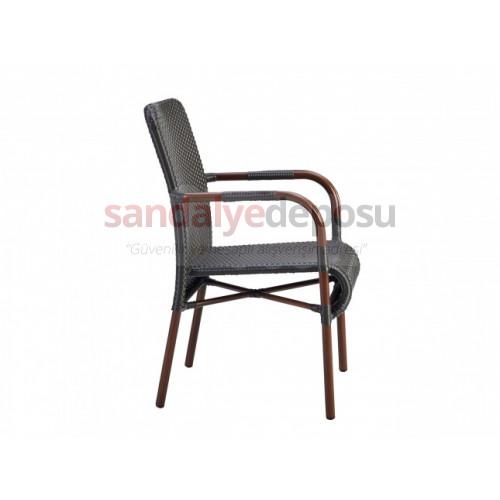 Teak-Savoy Rattan Masa Sandalye Takım