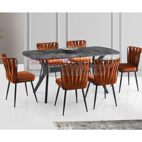Sugger Masa Ve Sandalye Takımı 6+1