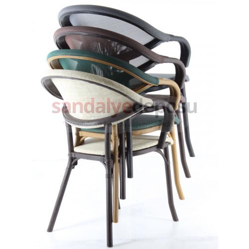 Pablo PP Rattan Görünümlü Sandalye 04