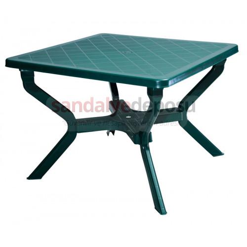 100x100 demonte ayaklı plastik masa