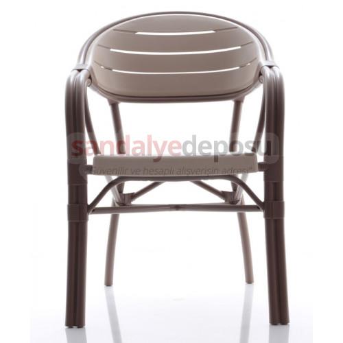 Monreal camlı masa sandalye takımı 90x90
