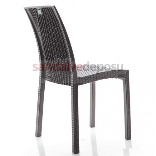 Rattan kolsuz p.p. sandalye