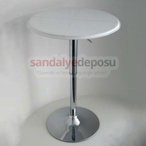 Derili Amortisörlü bar masası