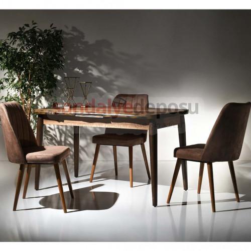 Aleah Masa Ve Sandalye Takımı 4+1