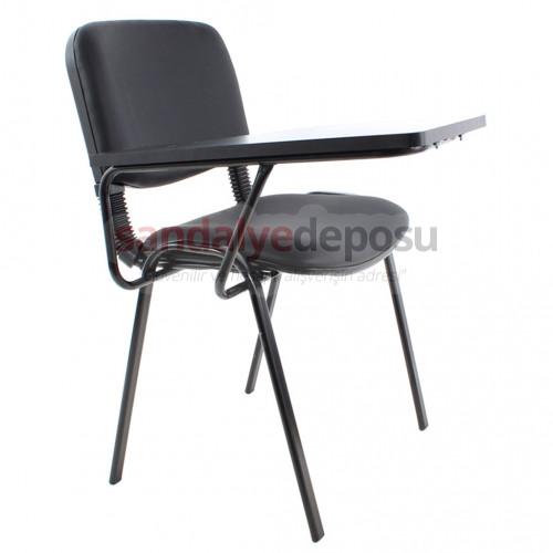 Form Konferans Sandalyesi Siyah