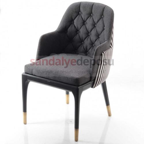 Dizayn Ahşap Ayaklı Sandalye