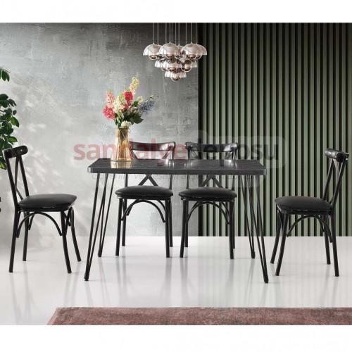 Alanis Masa Ve Sandalye Takımı 4+1