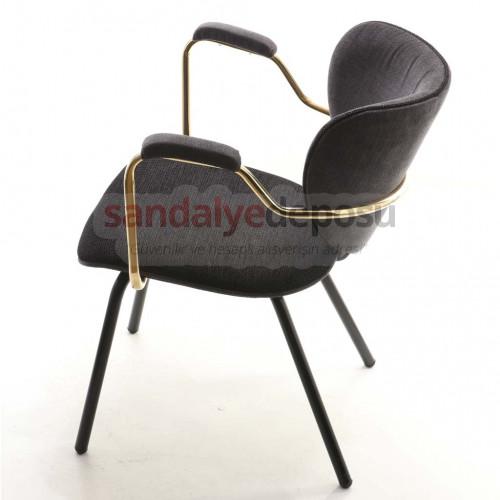 Boyce Kollu Metal Sandalye