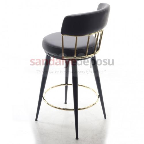 Danial Bar Sandalyesi Deri
