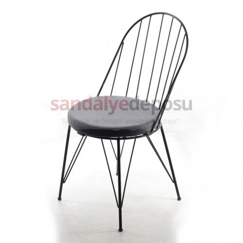 Carly Metal Sandalye