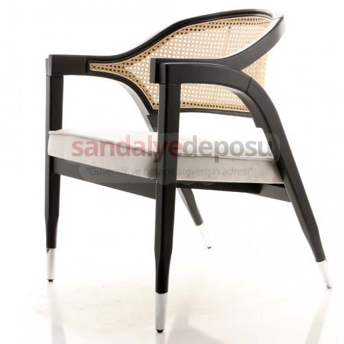 Anila Krom Uçlu Thonet Sandalye