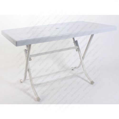 Plastik katlanır masa  70x120 (spot)