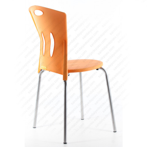 Stella plastik sandalye Turuncu