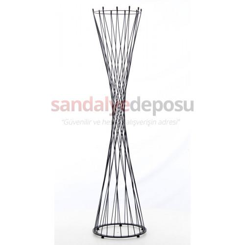 Metal Çubuklu Boyalı Modern Askılık