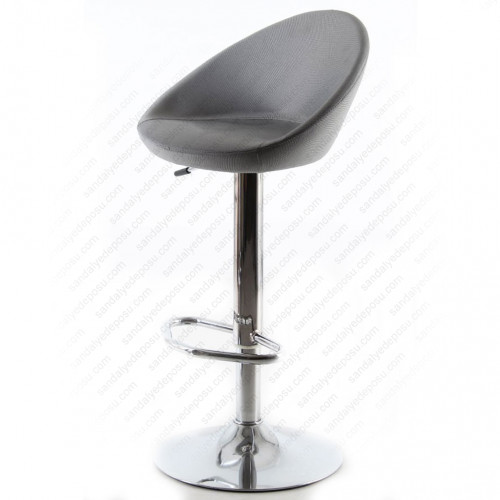Gloria Bar Sandalyesi A.Gri Kumaş