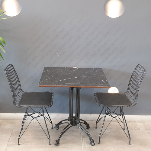 Kafeterya masa takımı 70x70 (1masa+2sandalye)