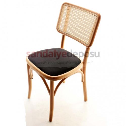 Sage Döşemeli Ahşap Sandalye