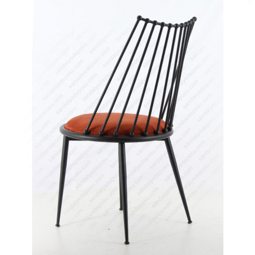 Lüx Hilton Sandalye Siyah