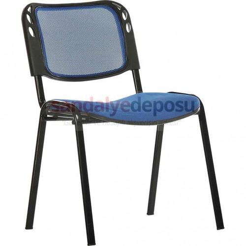 Form Sandalye Fileli Mavi
