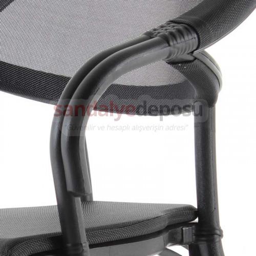 Pablo PP Rattan Görünümlü Sandalye 01
